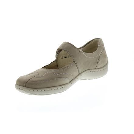 Waldläufer Damen Schuhe Henni Beige Leder Schuhe Ballerina NEU 496302-191-094