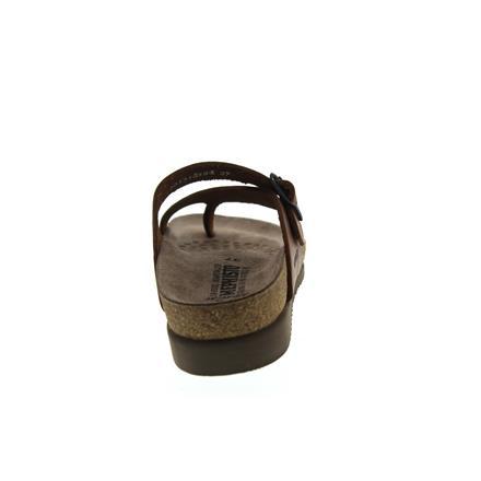 chestnut Fettleder Zehensteg Helen Mephisto H017 Scratch 3478