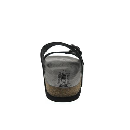 Herrenpantolette Glattleder Scratch 3400 schwarz N1175 Mephisto Nerio