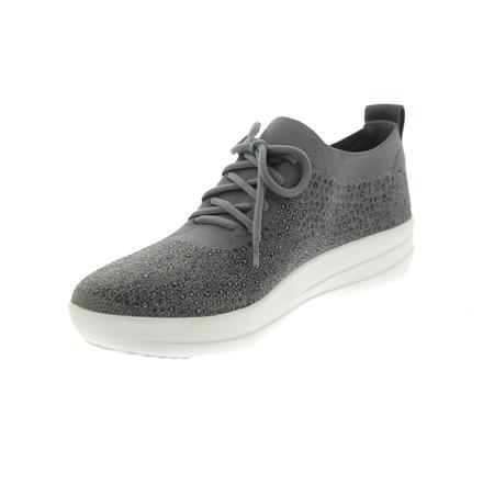 Dusty F Sneakers Zu Details 600 Uberknit CrystalCharcoal Grey Fitflop M25 Sporty UzMpSV