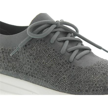 f3ad6b126c8c Fitflop F-Sporty Uberknit Sneakers Trainers - Crystal