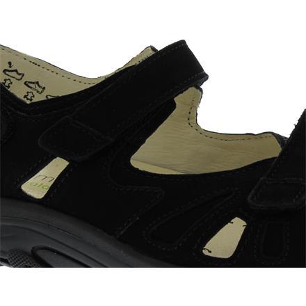 Details zu Waldläufer Hanni, Dynamic Sohle, Denver (Nubukleder), schwarz, Weite H 448001 19