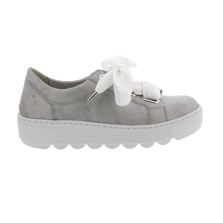 Details about Gabor Trainers, Colombo (Smooth Leather), Silver, Removable Footbed,