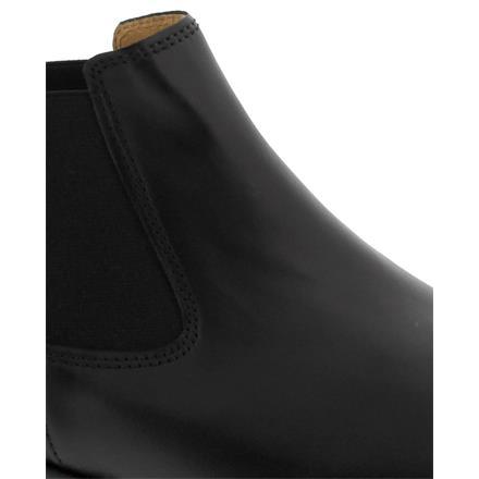 schwarz Glattleder Gabor Chelsea Boot Lederfutter 31.640.27 Foulardcalf