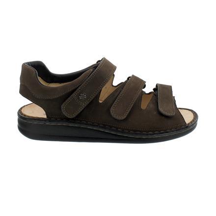 Finn Comfort Herren Sandale Modell Tunis braun Nubukleder NEU!!
