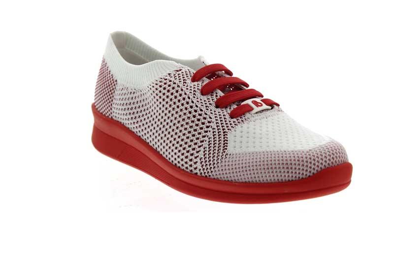 Berkemann Sneaker Eila in weiß-rot