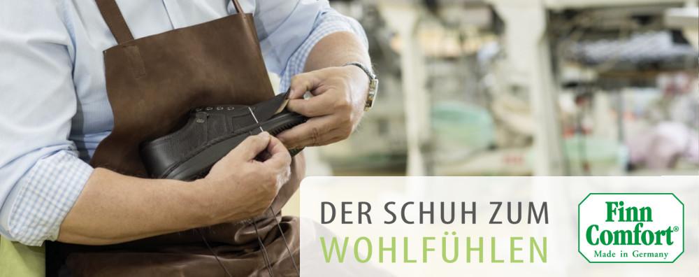 Finn Comfort - Der Schuh zum Wohlfühlen - Made in Germany